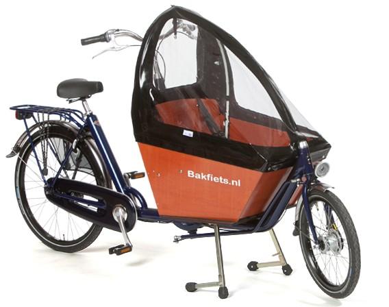 Bakfiets Lastenrad Kurz, Orange, fabrikneu | Heavy Pedals ...