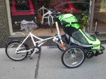 Zigo Leader X1 Carrier als Kindertransportrad