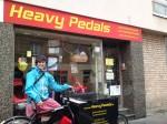 Käfa war von Mai 2013 bis Oktober 2017, als fest angestellte Lastenradbotin, für Heavy Pedals unterwegs.
