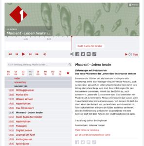 08.05.2017 - Ö1: Moment - Leben heute: Schwertransport auf zwei Rädern
