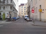 Mittersteig, Ecke Klagbaumgasse, Hugo Wiener Platz, Kleine Neugasse