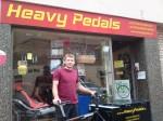 Angelo war von Juli bis Oktober 2013, als geringfügig angestellter Lastenradbote, für Heavy Pedals unterwegs.