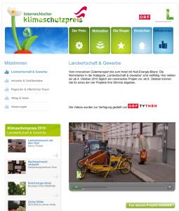 Zum Video auf der website klimaschutzpreis.at