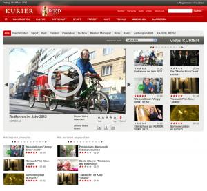 09.03.2012 – kurier.at: Radfahren im Jahr 2012