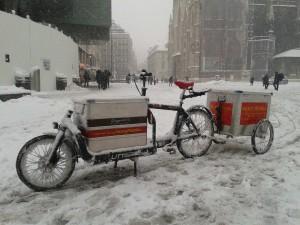 Wir fahren auch im Winter!