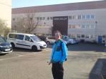 Höfi am Firmenparkplatz von Riese & Müller (Radabstellanlage nicht im Bild ;)