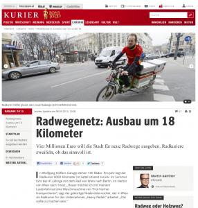 Radwegenetz: Ausbau um 18 Kilometer