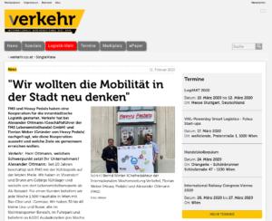 """12.02.2020 – Verkehr: """"Wir wollten die Mobilität in der Stadt neu denken"""""""