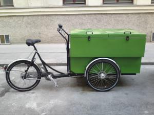 Christiania 3107 mit isolierter Box von Loliner