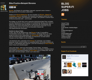 25.05.2011 - Super-Fi: Bike-Practice-Beispiel Biorama
