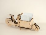 Cargoli - Das Lastenrad als Steckbausatz aus Birkensperrholz