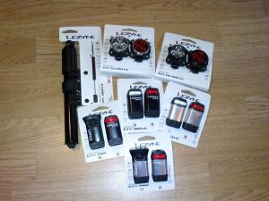 Lezyne USB Lichter & Pumpen