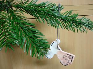 Lastenrad Weihnachtsbaumanhänger