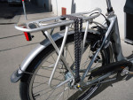 Bakfiets Airo, 8-Gang, Silber, Vorführrad