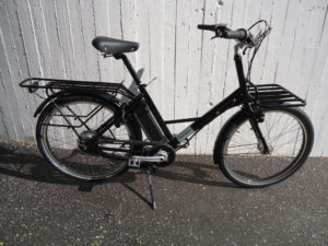 Workcycles FR8 V8, Nuvinci, Satin Schwarz, fabrikneu
