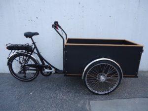Christiania H/Box +30, E-Motor, schwarz, fabrikneu