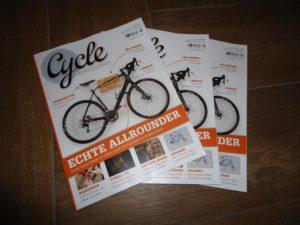"""""""Cycle – Das Bike & Style Magazin"""", Ausgabe 2-2017 eingetroffen"""