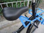 Workcycles Fr8, 8-Gang, Satin Schwarz, Blaue Anbauteile, fabrikneu