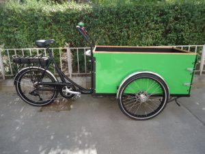 Christiania, H/Box +30, 8-Gang, E-Motor, Grüne Box, fabrikneu