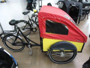 Christiania Light, 8-Gang, Gelbe Box, Vorführrad