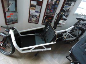 Riese & Müller Load, E-Motor, Nuvinci, weiß, Vorführrad
