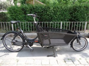 bakfiets lastenrad shadow steps 7 gang e motor schwarz. Black Bedroom Furniture Sets. Home Design Ideas