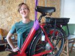 Karin ist seit August 2018 als fest angestellte Radmechanikerin bei uns tätig.