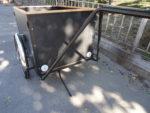 Christiania Anhänger Extra Breit, 50cm Höhe