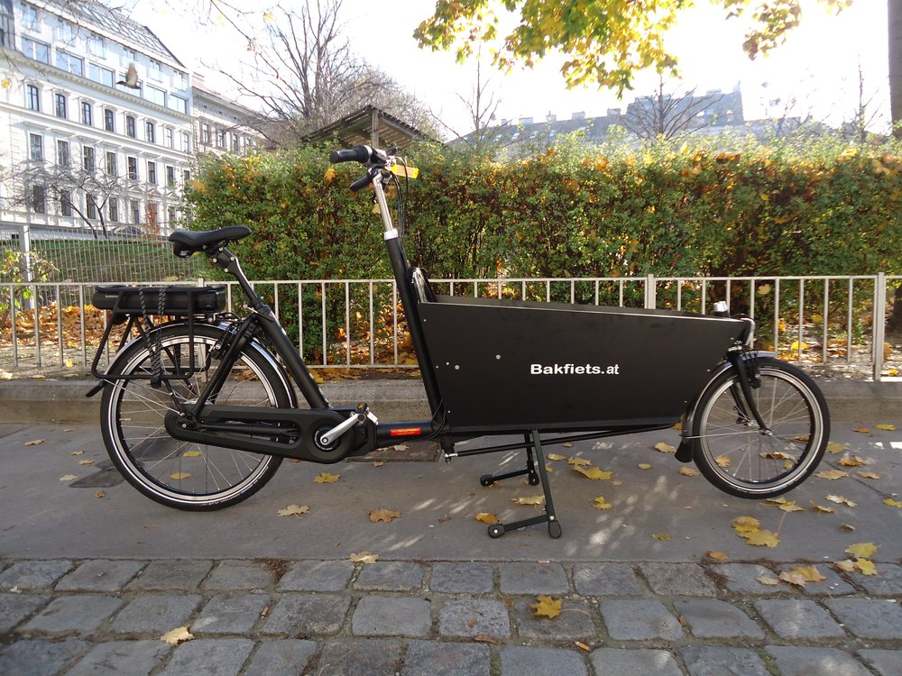 bakfiets lastenrad lang classic steps nuvinci e motor. Black Bedroom Furniture Sets. Home Design Ideas