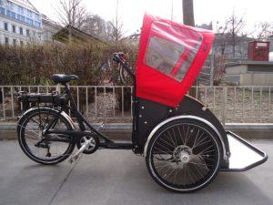 Christiania Model T (Rikscha), E-Motor, fabrikneu