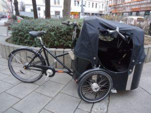Nihola 4.0, 8-Gang, schwarz, Vorführrad
