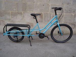 Xtracycle Edgerunner Swoop, 27-Gang, Medium, Blau, fabrikneu