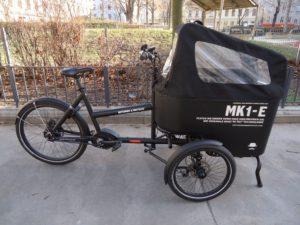 Butchers & Bicycles MK1-E, Nuvinci, schwarz, Vorführrad