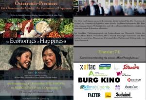 Österreich-Premiere Die Ökonomie des Glücks | the Economics of Happiness