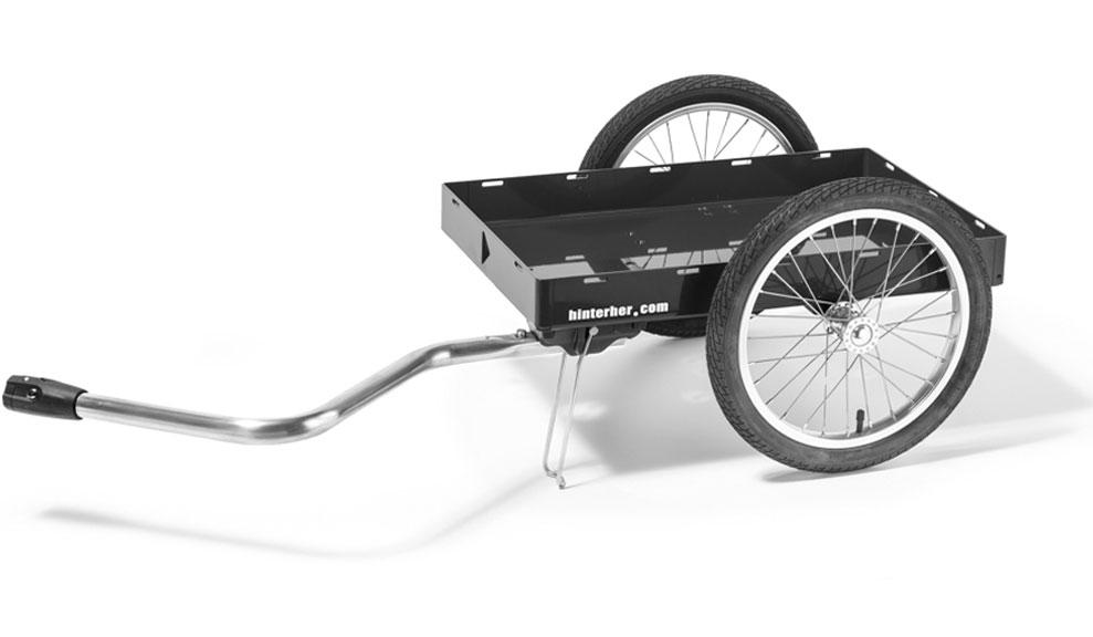 hinterher der hochwertige fahrradanh nger zum lastentransport heavy pedals botendienst. Black Bedroom Furniture Sets. Home Design Ideas