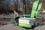 Fahrbar der Grünen Radrettung mit Christoph Chorherr (Foto: wien.gruene.at)