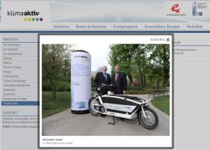 Förderungsoffensive – Elektro-Fahrräder und Transporträder