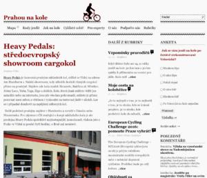 16.05.2016 - Prahou na kole: Heavy Pedals: středoevropský showroom cargokol
