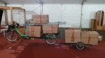 Der MCS Truck voll beladen beim Abbau des ARGUS Bikefestival