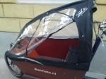 Bakfiets Cabrio Regenverdeck