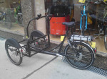 Christiania Lastenrad mit E-Motor