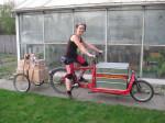 Maria war von März 2013 bis März 2015, als fest angestellte Lastenradbotin, für Heavy Pedals unterwegs.