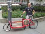 Nova war von Juni 2012 bis November 2012, als fest angestellter Lastenradbote, für Heavy Pedals unterwegs. Seit 2013 ist er für die Organisation der Radrettung verantwortlich.