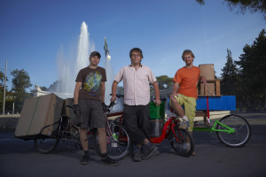 Flo, Peter und Wolfgang