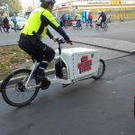 Auch die deutsche Polizei nutzt Transporträder