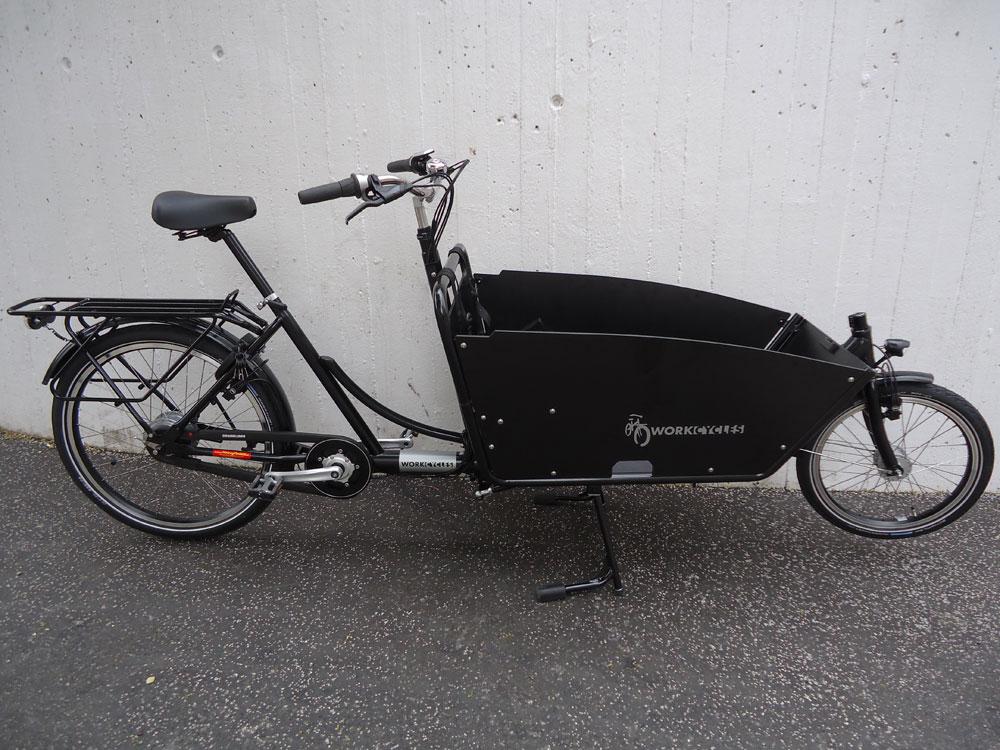 Workcycles Kr8 V8, Nuvinci, Satin Schwarz, fabrikneu