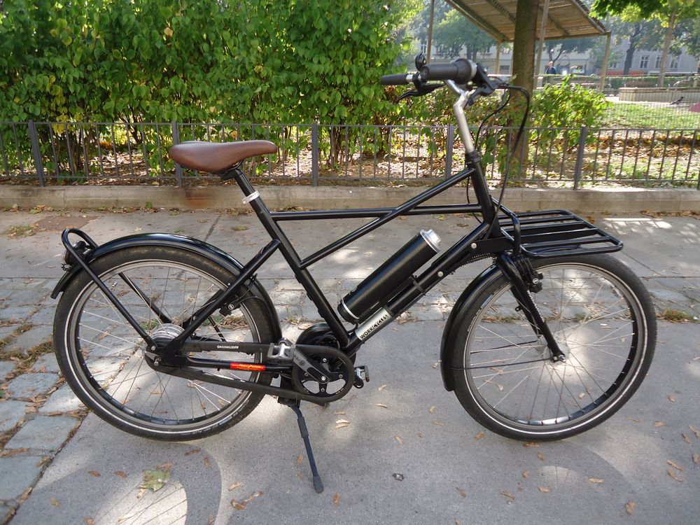 Workcycles Fr8 V8, Pendix E-Motor, Schwarz, leicht gebraucht