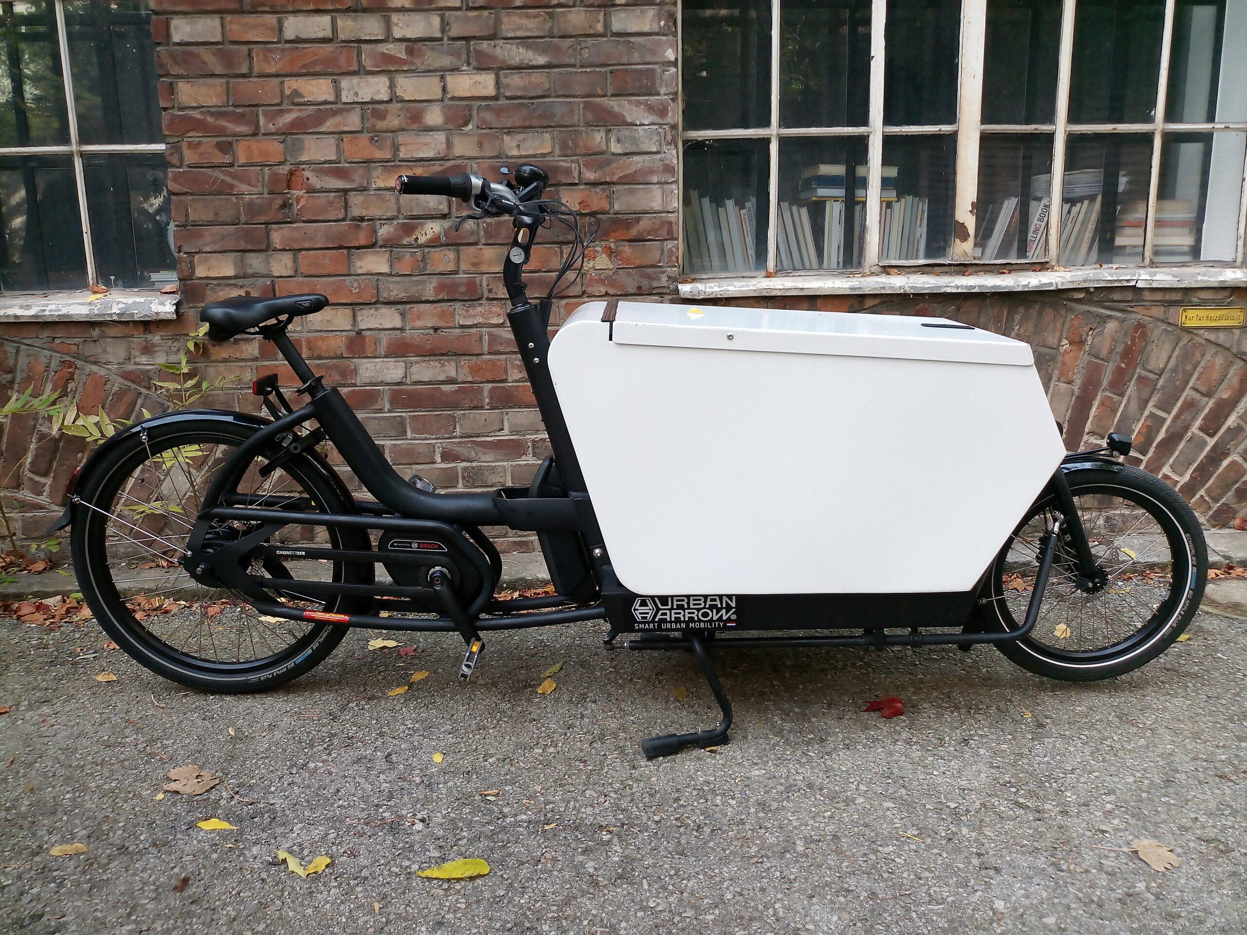 Urban Arrow Lastenrad in Wien kaufen - Heavy Pedals