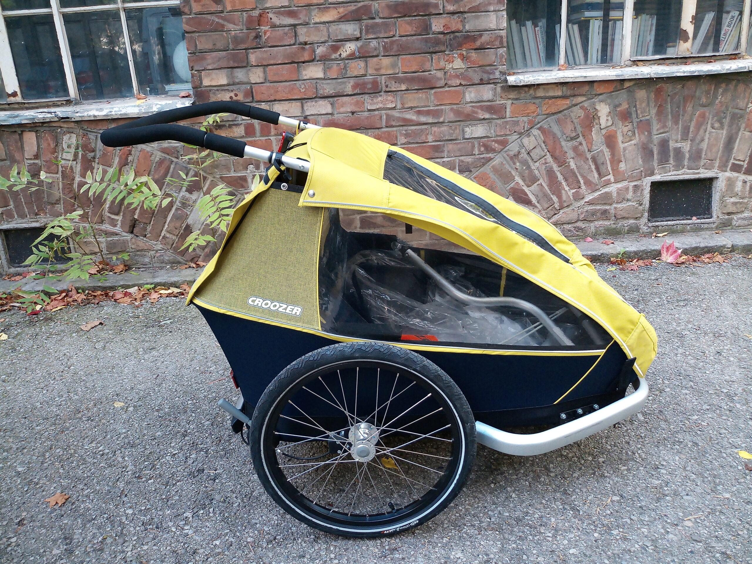 Croozer Kid Kinderanhänger in Wien kaufen bei Heavy Pedals