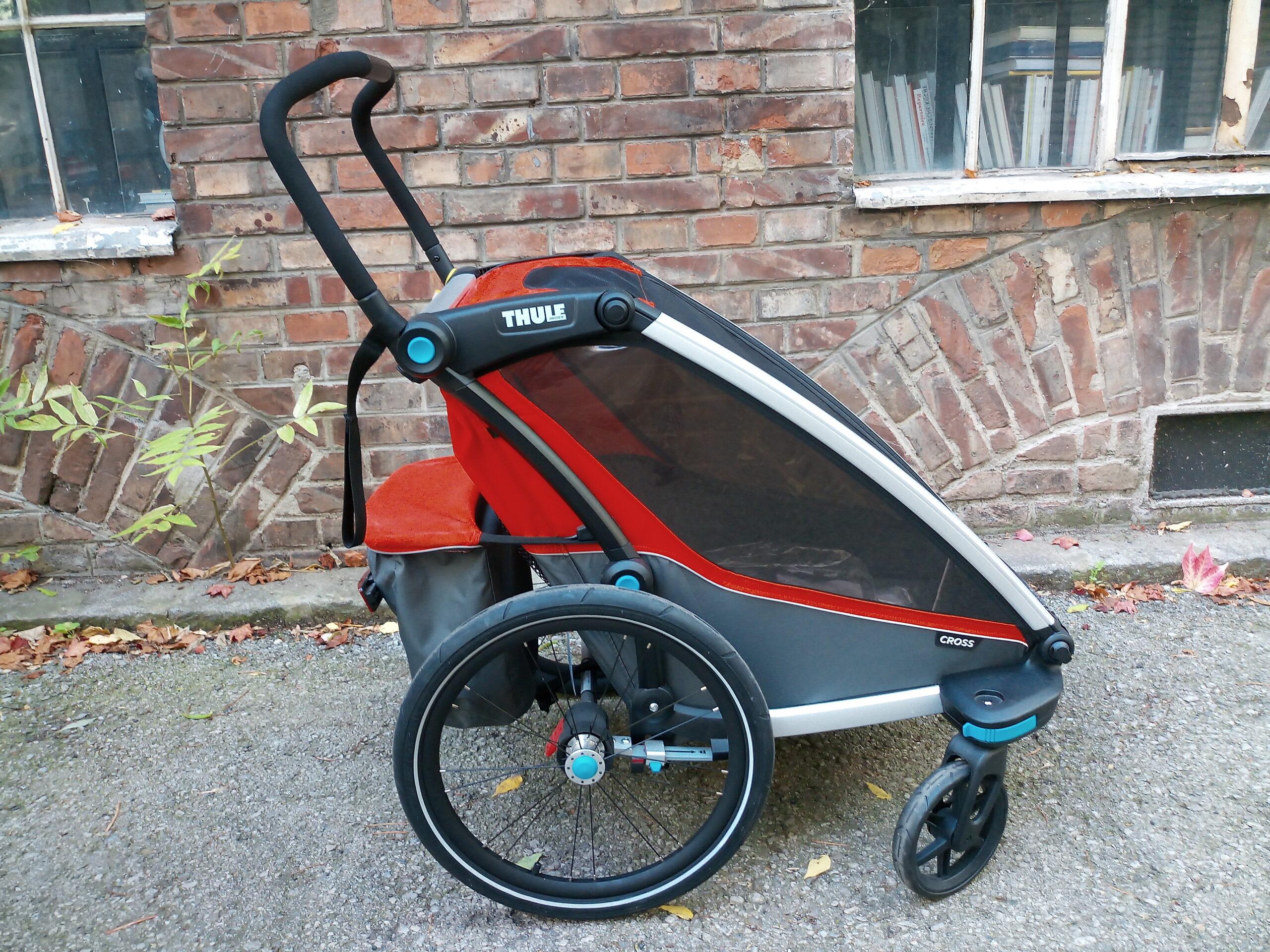 Thule Chariot Cross Kinderanhänger in Wien kaufen - Heavy Pedals